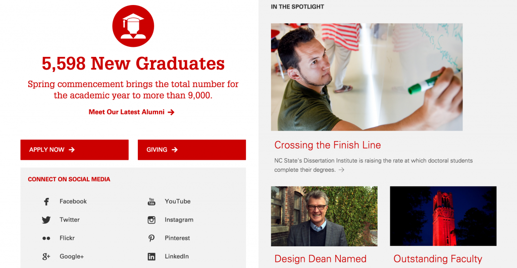 NCSU-Main_website